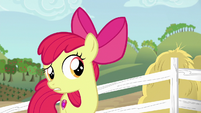 "Apple Bloom ""thinking of somethin' else"" S6E14"