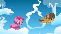 Earth pony on a cloud S1E23