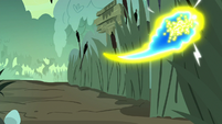 Flash bee swarm flies back into the trees S7E25