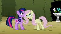 Fluttershy and Twilight S02E02