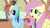 Fluttershy getting nervous S2E24