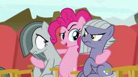 """Pinkie Pie making a """"Rock-tor Pie"""" joke S7E4"""