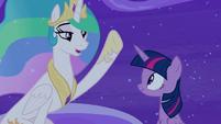 """Princess Celestia """"the show must go on"""" S8E7"""