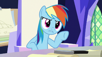 """Rainbow """"did you just make all that up"""" S9E4"""
