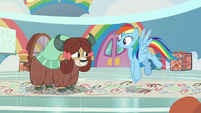 "Rainbow Dash ""and let yourself go!"" S9E7"