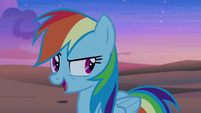 "Rainbow Dash ""which means"" S7E18"