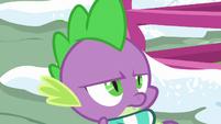 Spike looking very annoyed MLPBGE