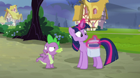 """Spike sarcastic """"how could I forget?"""" S9E16"""