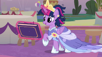 Twilight Sparkle gifted with a book S9E26