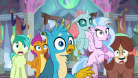 Young Six gasp at Twilight's truth bomb S9E3