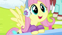 Fluttershy -that sounds just like her!- MLPBGE