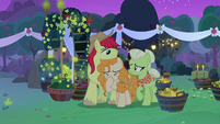 Pear Butter crying tears of heartbreak S7E13