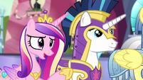 "Princess Cadance ""already a big relief"" S6E16"