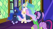 Princess Celestia -not exactly- S9E13