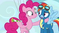 "Rainbow Dash ""seventy-third training session?"" S7E23"