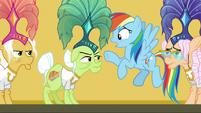 "Rainbow Dash ""you were in danger!"" S8E5"