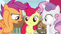 """Scootaloo """"we can't talk about costumes"""" S7E8"""