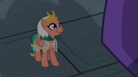Somnambula smiling at the sphinx S7E18