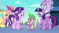 """Spike """"all we have to do is follow it!"""" S6E1"""