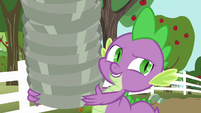 Spike --don't know why we keep running out-- S6E10