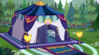 Starswirled Music Festival medical tent CYOE15a