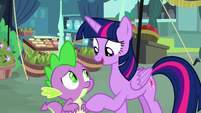 Twilight -I'm sure there is, Spike- S8E18