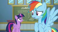 Twilight pleased to have woken up Rainbow Dash S6E24