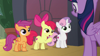"""Apple Bloom """"be a little more specific"""" S8E6"""