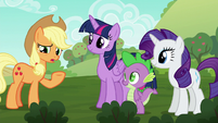 Applejack --didn't realize there were any problems-- S6E10