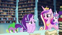 """Cadance """"Maybe he'll know what to do if the spell fails"""" S6E2"""