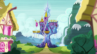 Castle of Friendship exterior midday S6E5