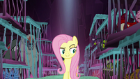 Fluttershy between the monster prisons S8E26