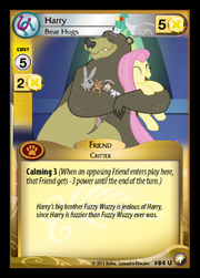 Harry, Bear Hugs card MLP CCG.png