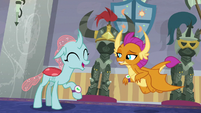 Ocellus and Smolder find their first artifact S8E15