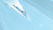 Rainbow Dash before the Sonic Rainboom