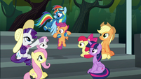 """Rarity """"practice went well yesterday"""" S6E7"""