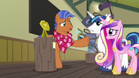 """Spearhead tells Shining and Cadance """"go to her"""" S7E3"""
