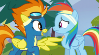 """Spitfire """"you're supposed to be a Wonderbolt"""" S6E7"""