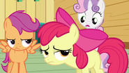 Sweetie Belle tell Applejack S3E4