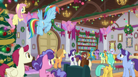 Twilight addressing the friendship students S8E16