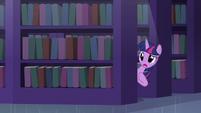 Twilight behind the bookshelf S5E12