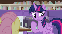 Twilight thinking for a moment S9E9