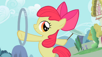 Apple Bloom spinning the hoop 3 S2E06