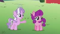 Diamond asks filly to help with merry-go-round S5E18