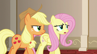 """Fluttershy """"whether we were able to fool you or not"""" S6E20"""