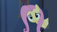 Fluttershy catches up with Rarity S4E03