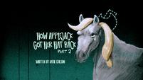 How Applejack Got Her Back Part 2 title card PLS1E3b