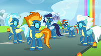 """Rainbow Dash """"I guess they're with me"""" S7E7"""
