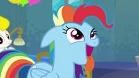 Rainbow Dash acting like a dog S6E7