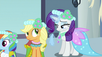 Rarity about to wipe tears S2E26